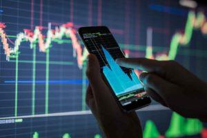 Торговля на фондовом рынке.