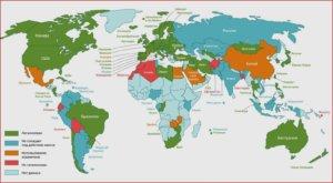 криптовалюты в разных странах мира
